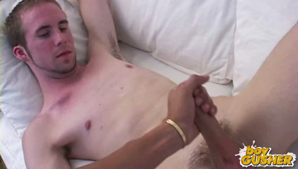 Today we are hanging out with Arron. It took me awhile to get Arron to take out his cock on camera and show it to us. I had to explain that it was sorta like porn reality TV.